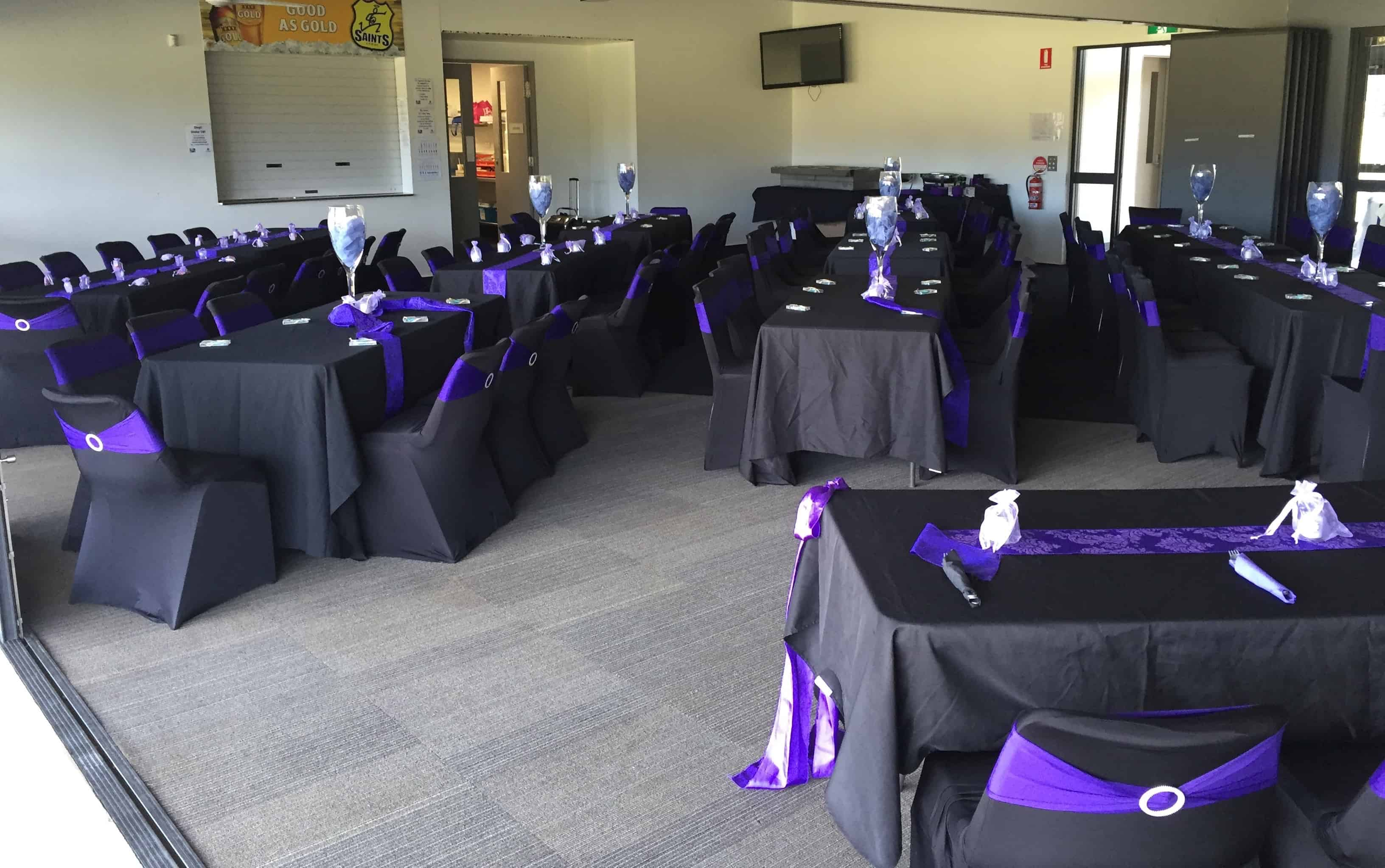 Logan Rugby Club dressed up for a function looking beautiful.